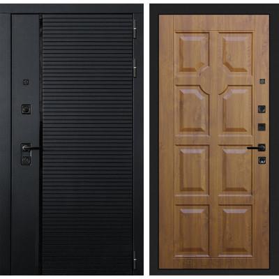 Стальная дверь Лабиринт Пиано 17 (Золотой дуб)