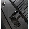 Стальная дверь Лабиринт Пиано 03 (Белый софт)