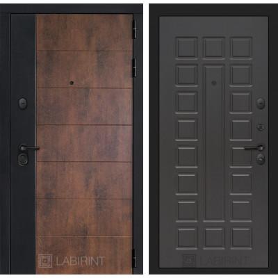 Стальная дверь Лабиринт Техно 04 (Венге)