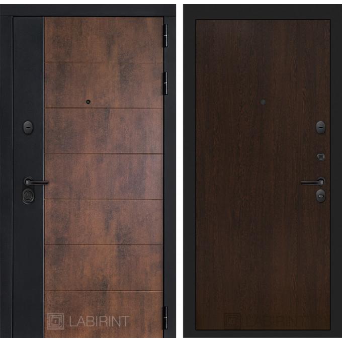 Стальная дверь Лабиринт Техно 05 (Венге)