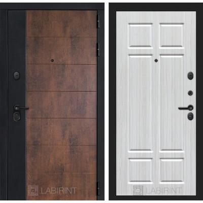Стальная дверь Лабиринт Техно 08 (Кристалл вуд)