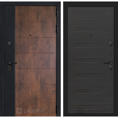 Стальная дверь Лабиринт Техно 14 (Эковенге)
