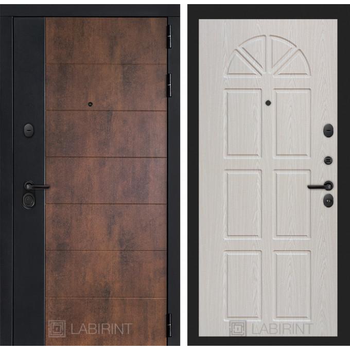Стальная дверь Лабиринт Техно 15 (Алмон 25)