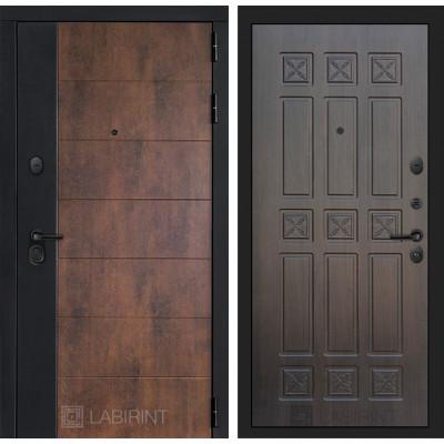 Стальная дверь Лабиринт Техно 16 (Алмон 28)