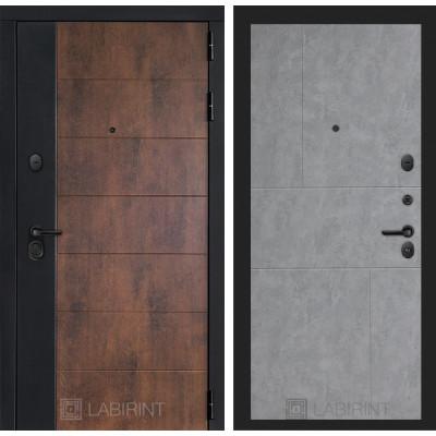 Стальная дверь Лабиринт Техно 21 (Бетон светлый)
