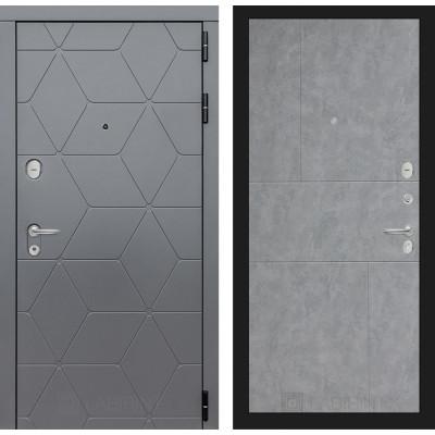 Стальная дверь Лабиринт COSMO 21 (Бетон светлый)
