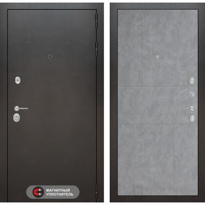 Стальная дверь Лабиринт SILVER 21 (Бетон светлый)