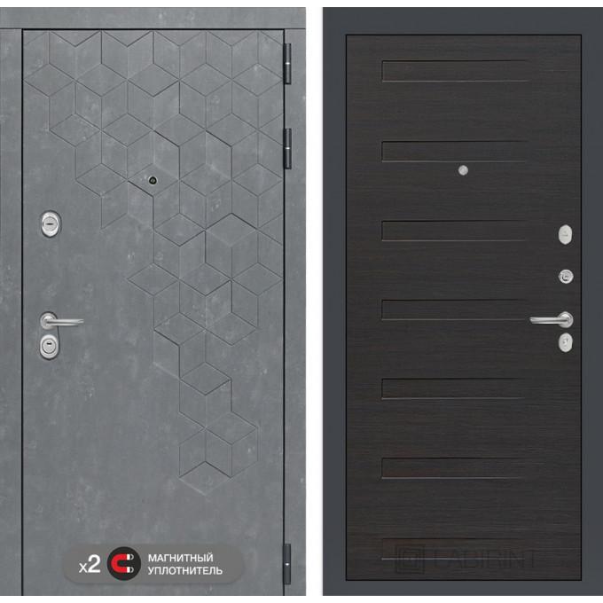 Стальная дверь Лабиринт Бетон 14 (Эковенге)