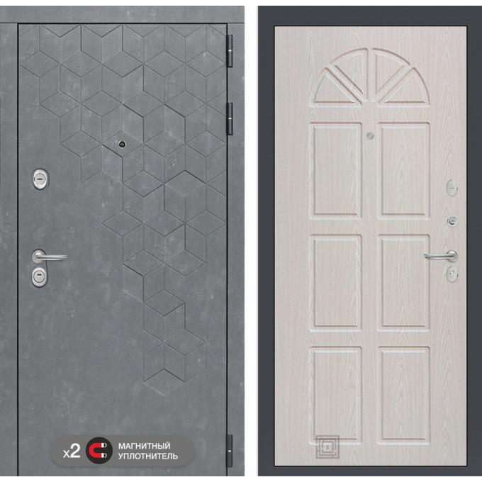 Стальная дверь Лабиринт Бетон 15 (Алмон 25)
