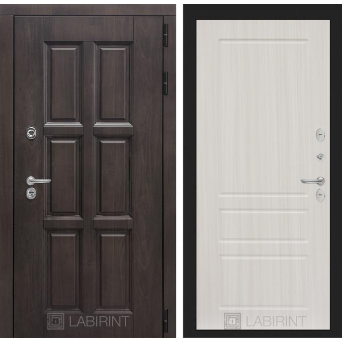 Стальная дверь Лабиринт Лондон с терморазрывом 08 (Кристалл вуд)