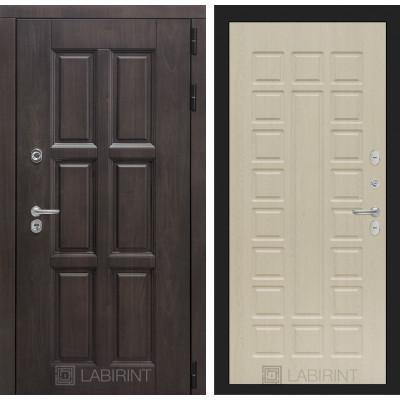 Стальная дверь Лабиринт Лондон с терморазрывом 04 (Беленый дуб)