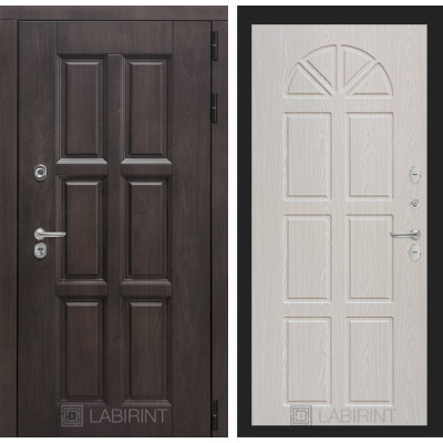 Стальная дверь Лабиринт Лондон с терморазрывом 15 (Алмон 25)
