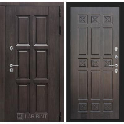 Стальная дверь Лабиринт Лондон с терморазрывом 16 (Алмон 28)