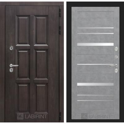 Стальная дверь Лабиринт Лондон с терморазрывом 20 (Бетон светлый)