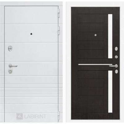 Стальная дверь Лабиринт TRENDO 02 (Венге)