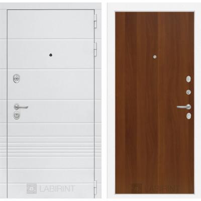 Стальная дверь Лабиринт TRENDO 05 (Итальянский орех)
