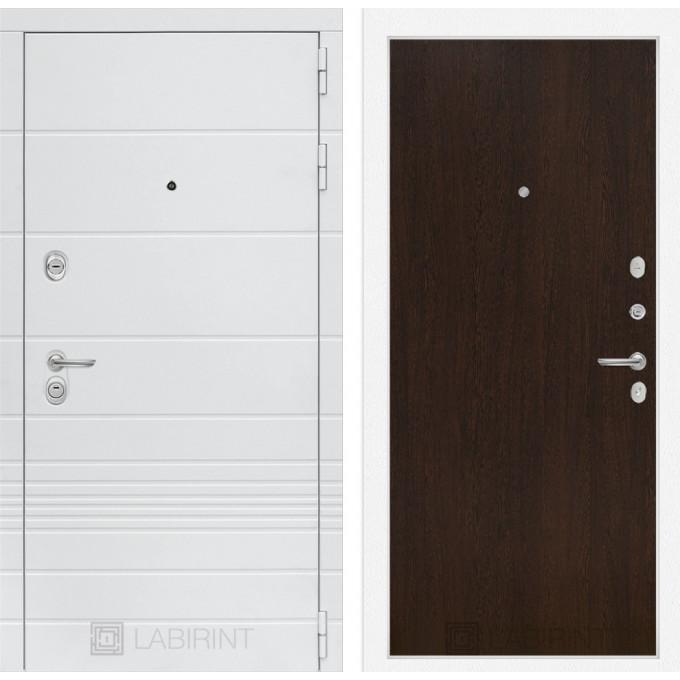 Стальная дверь Лабиринт TRENDO 05 (Венге)