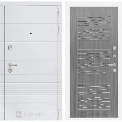 Стальная дверь Лабиринт TRENDO 06 (Сандал серый)