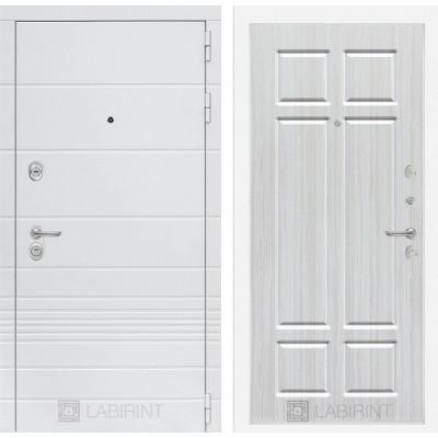 Стальная дверь Лабиринт TRENDO 08 (Кристалл вуд)