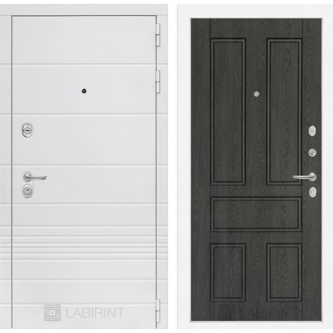 Стальная дверь Лабиринт TRENDO 10 (Дуб филадельфия)