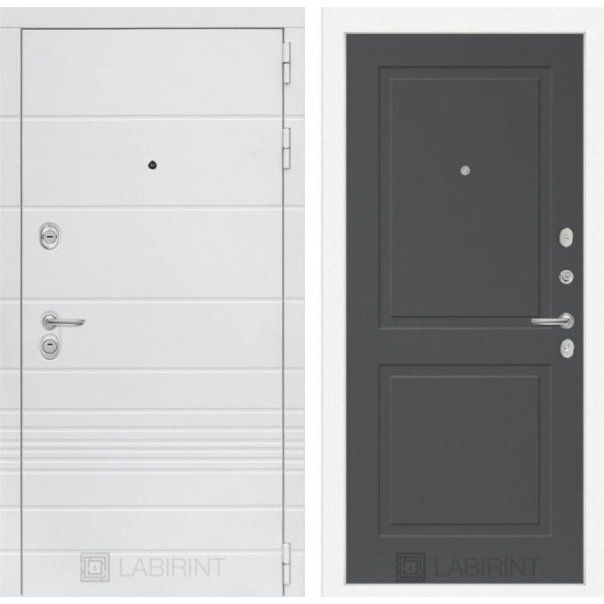Стальная дверь Лабиринт TRENDO 11 (Грей софт)