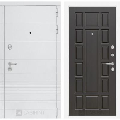 Стальная дверь Лабиринт TRENDO 12 (Венге)