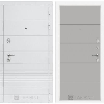 Стальная дверь Лабиринт TRENDO 13 (Грей софт)