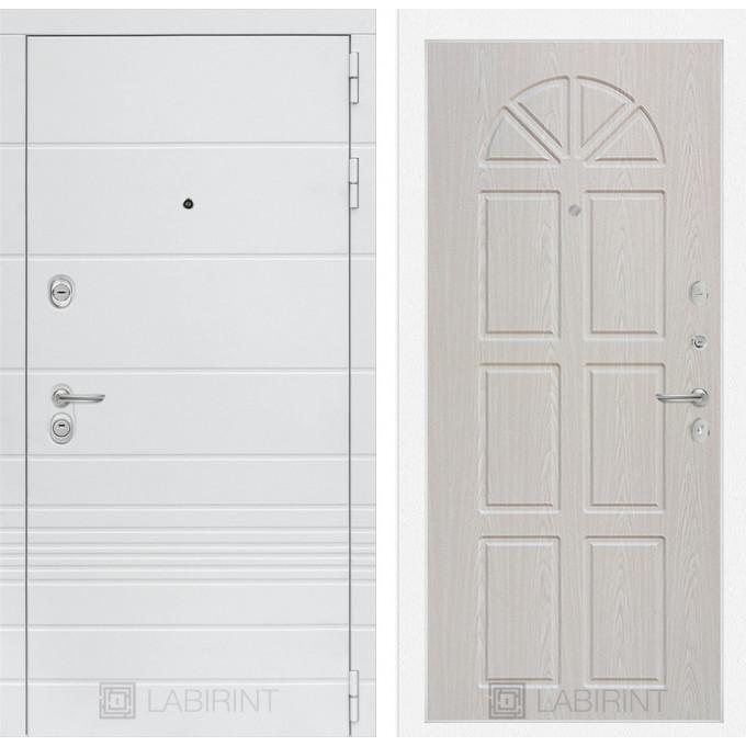 Стальная дверь Лабиринт TRENDO 15 (Алмон 25)