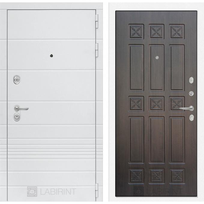 Стальная дверь Лабиринт TRENDO 16 (Алмон 28)