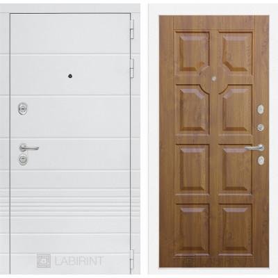 Стальная дверь Лабиринт TRENDO 17 (Золотой дуб)