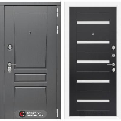Стальная дверь Лабиринт Платинум 01 (Венге)