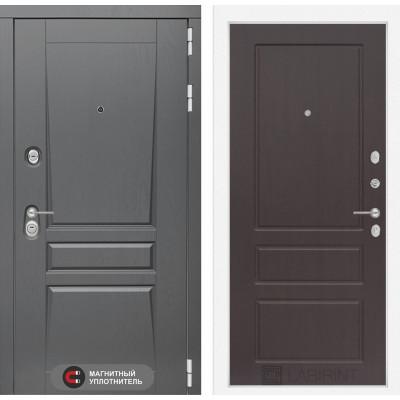 Стальная дверь Лабиринт Платинум 03 (Орех премиум)