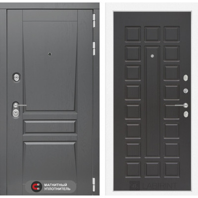 Стальная дверь Лабиринт Платинум 04 (Венге)