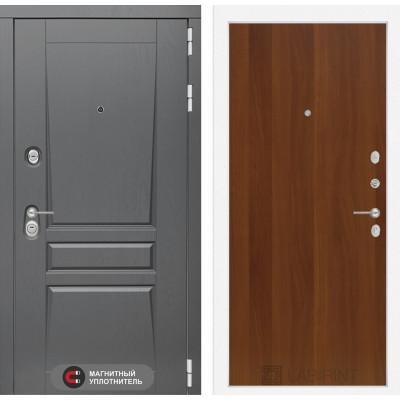 Стальная дверь Лабиринт Платинум 05 (Итальянский орех)