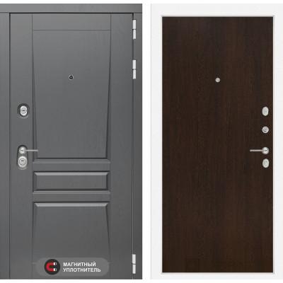 Стальная дверь Лабиринт Платинум 05 (Венге)