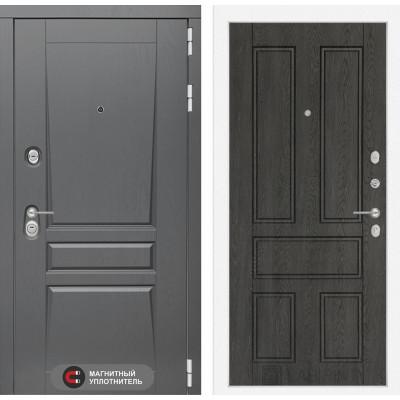 Стальная дверь Лабиринт Платинум 10 (Дуб филадельфия)