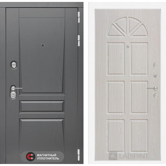 Стальная дверь Лабиринт Платинум 15 (Алмон 25)