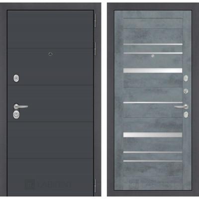 Стальная дверь Лабиринт ART 20 (Бетон темный)