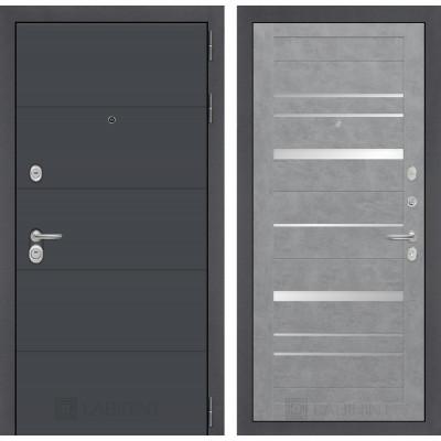 Стальная дверь Лабиринт ART 20 (Бетон светлый)