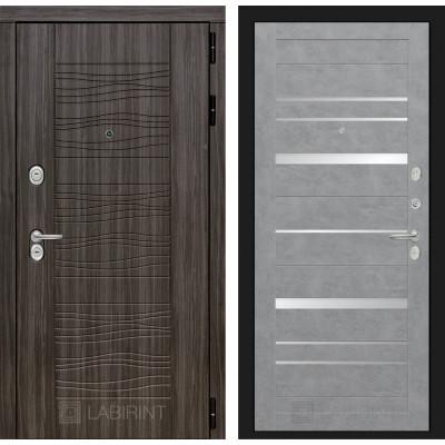 Стальная дверь Лабиринт SCANDI 20 (Бетон светлый)