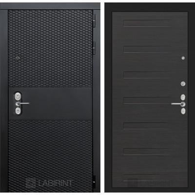 Стальная дверь Лабиринт BLACK 14 (Эковенге)