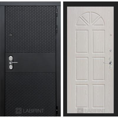 Стальная дверь Лабиринт BLACK 15 (Алмон 25)
