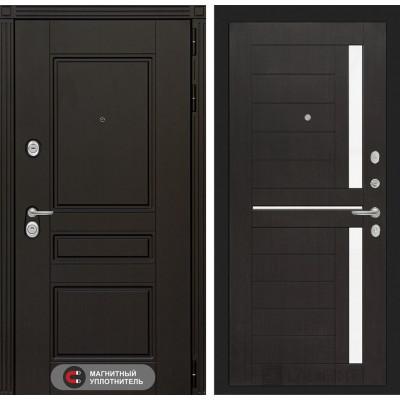 Стальная дверь Лабиринт Мегаполис 02 (Венге)