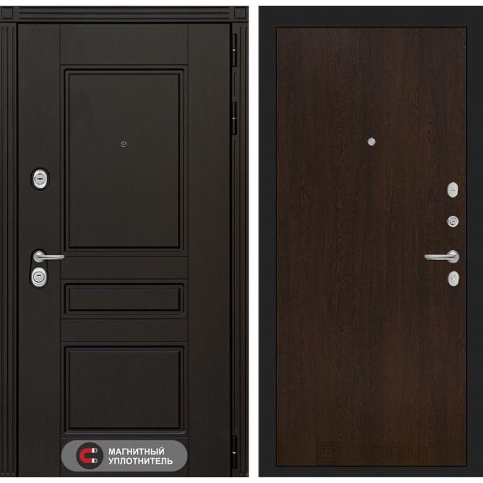 Стальная дверь Лабиринт Мегаполис 05 (Венге)