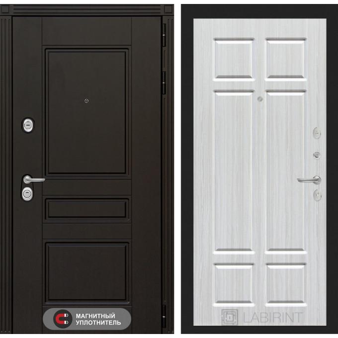 Стальная дверь Лабиринт Мегаполис 08 (Кристалл вуд)