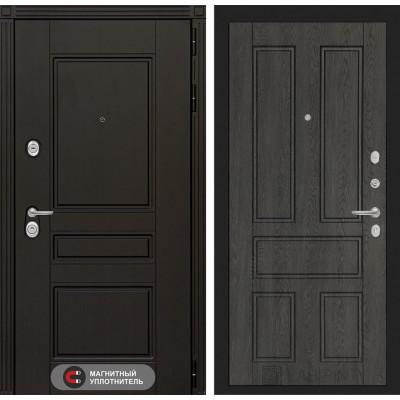 Стальная дверь Лабиринт Мегаполис 10 (Дуб филадельфия)