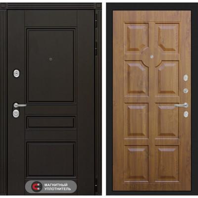 Стальная дверь Лабиринт Мегаполис 17 (Золотой дуб)