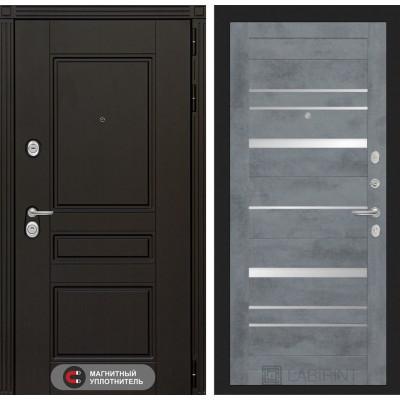 Стальная дверь Лабиринт Мегаполис 20 (Бетон темный)