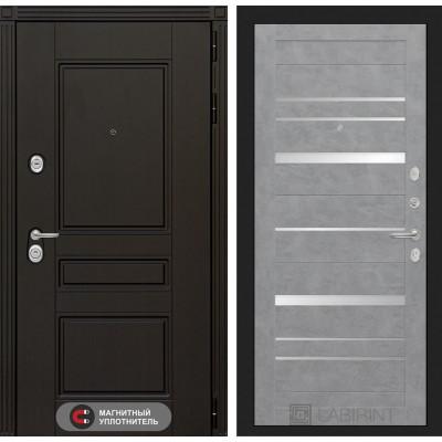 Стальная дверь Лабиринт Мегаполис 20 (Бетон светлый)