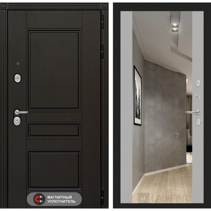 Стальная дверь Лабиринт Мегаполис Максимум (Грей софт)